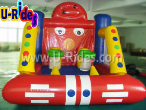 Two People Set Shot Inflatable Basketball Game for Carnival pictures & photos