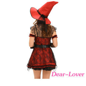 6PCS Mischievous Witch Halloween Costume pictures & photos