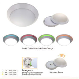 Ultra Thin Digital Surface Mounted Absorb Dome Light Motion Sensor LED Plafond Lamp pictures & photos