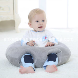Soft Round Plush Baby Pillow with PP Cotton pictures & photos
