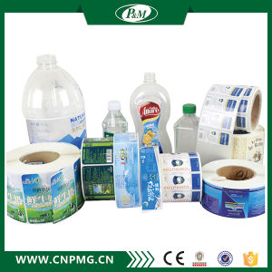 Paper Material Plastic Bottle Sticker Label Printing pictures & photos