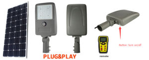 Ce RoHS FCC LiFePO4 Battery Philips LED Chip IP65 20W Solar LED Light pictures & photos