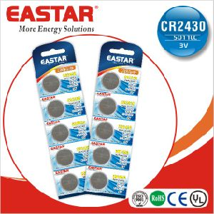 3V Cr2016 Lithium Manganese Button Cell pictures & photos