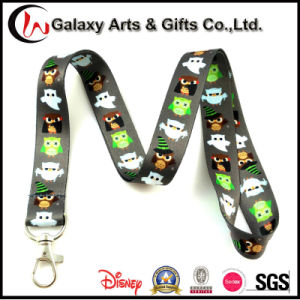 Customized ID Badge Holder Polyester Heat Transfer Printed Sublimation Lanyard pictures & photos