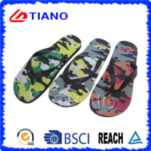 Hot Sale PE Outdoor Beach Flip Flop for Man (TNK35966/7/8/9/70) pictures & photos