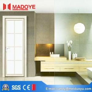 Building Material Aluminium Bathroom Doors/Interior Doors with Hollow Glass pictures & photos