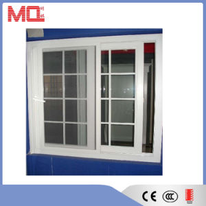 Plastic Window UPVC Sliding Window Grill Design pictures & photos