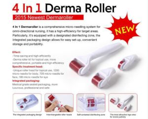Derma Roller 4 in 1 Micro Needle Skin Treatment Acne Scar pictures & photos