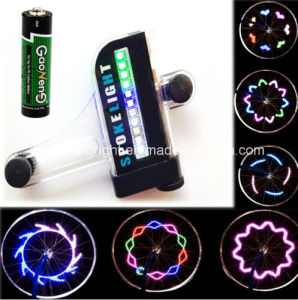 30 Patterns 14 PCS LED Spoke Wheel Light