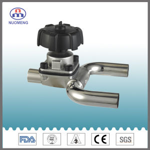 Stainless Steel Manual Welded Diaphragm Valve with U-Type Tee pictures & photos