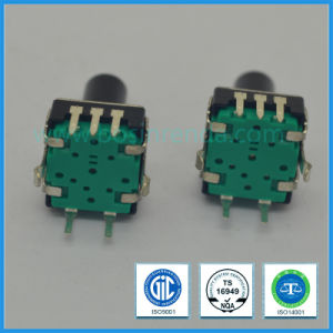 Household Appliances Used 12mm Manual Absolute Rotary Incremental Shaft Encoder 3 Pin pictures & photos