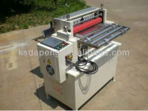 Tape Polyester Fabrics Sheet Cutting Machine pictures & photos