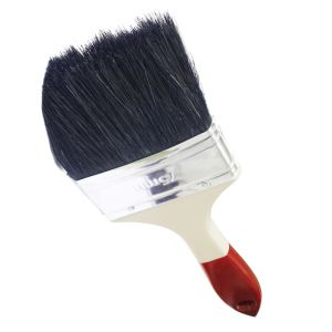 "3"" Universal Paint Brush with Synthetic Bristles and Plastic Handle pictures & photos"