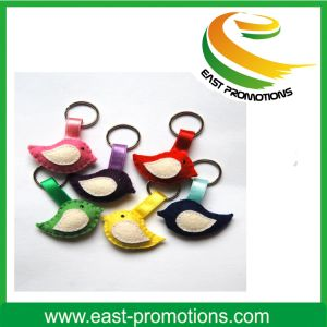 Cute Felt Bird Keychain Soft Gift Toy pictures & photos