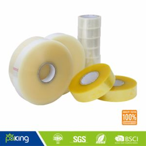 Flat Shrink Clear BOPP Adhesive Tape for Carton Sealing pictures & photos