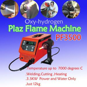 Portable Plasma Cutter Oxy-Hydrogen Flame Gas CNC Plasma Cutting Machine PF3500 pictures & photos