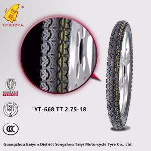 Motorcycle Tires Philippines 2.75-18 Yt668 pictures & photos