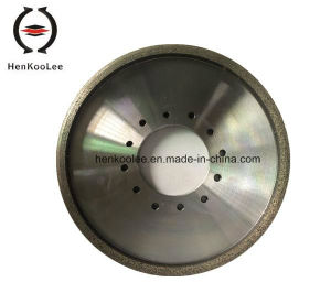 Continuous Rim Metal-Bond Diamond Dry-Grinding Wheel pictures & photos