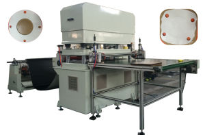Automatic Aluminum Foil Industrial Fabric Die Cutting Machine Paper Die Cutter pictures & photos