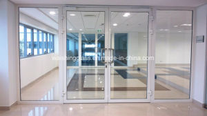 Safety Clear 12mm Tempered Glass Door Prices pictures & photos