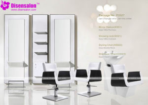 Popular High Quality Salon Furniture Mirror Barber Salon Chair (P2027E) pictures & photos