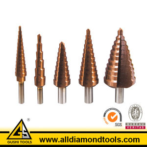 5 Step Titanium Nitride Coated Steel Carbide Drill Bits pictures & photos