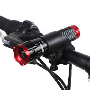 AAA Battery CREE LED Bike Light Flashlight pictures & photos