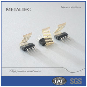 Network Connector, Precision Machining Metal Stamping Part pictures & photos