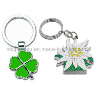 Spin Casting Zinc Alloy Key Chain
