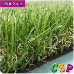 Green Healthy Artificial Grass for Gardens pictures & photos