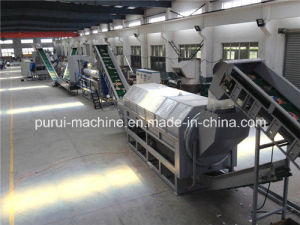 Pet Bottle Recycling System and Plastic Washing Recycling Machine