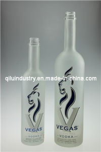 375ml/750ml/1 Liter Glass Rum/Gin/Whisky Bottles