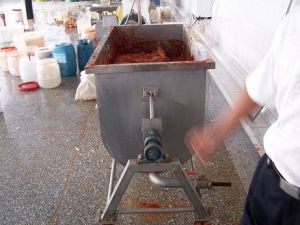 Kimchi Material Mixer