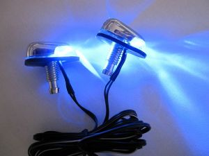 LED Windshield Washer Light