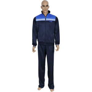 Men′s High Quality Polyester Tricot Tracksuit with Competitive Price pictures & photos