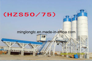 Mobile Batching Plant Hzs50/75 pictures & photos