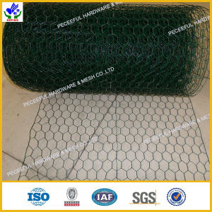 PVC Coated Anti-Corrosion Heaxgonal Wire Mesh pictures & photos