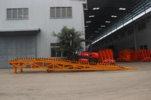 Hydraulic Dock Container Loading Ramp pictures & photos