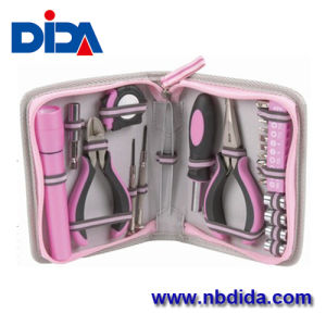 Pink Tools Sets/Lady Tool Bag for Familly Repairing