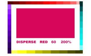 Dyestuff (Disperse Red 60)