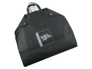 Hot Selling Foldable Nylon Nonwoven Garment Bag (MECO246) pictures & photos