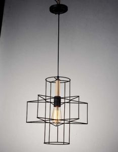 New Square Design of Indoor Pendant Lighting Lamp (HL-BL-0602-2)