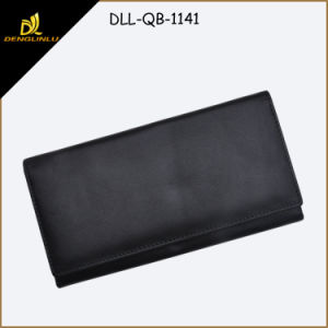 High Quality Fashion Lady′s Long Leather Wallet