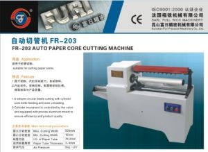 Auto Paper Core Cutting Machine/Paper Tube Cutting Machine (FR-203) pictures & photos