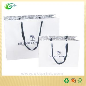 Coated Paper Shopping Bags Printing (CKT-PB-378) pictures & photos