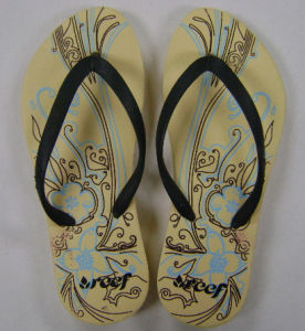 Rubber Flip Flop with Custom Logo Printed pictures & photos