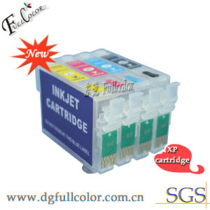 Refillable Ink Cartridge for Epson Eepression Home XP-102 Inkjet Printer pictures & photos