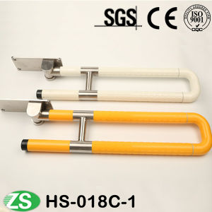 Standard Loading Capacity Bathroom Lift-up Grab Bar Handle pictures & photos