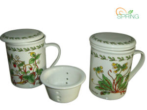 Porcelain Mug with Filler / Lid (SPMUG0024)