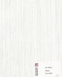 Decorative Melamine Paper (HB-40303) pictures & photos